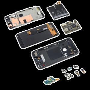 Полная разборка смартфона.Снятие поврежденного дисплейного модуля инавесногооборудования. Замена стекла Meizu, Xiaomi, iPhone, Sony в Киеве. FastFix сервис цент.