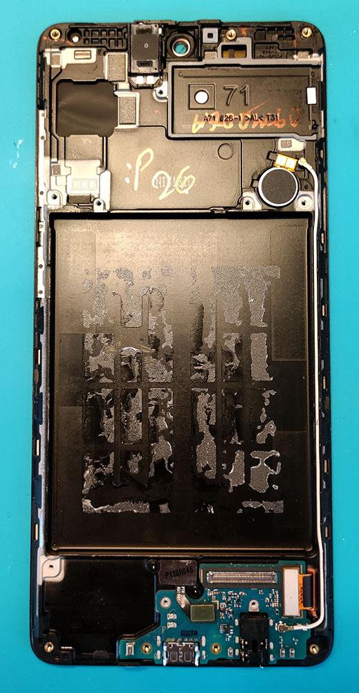 Разборка Samsung A71